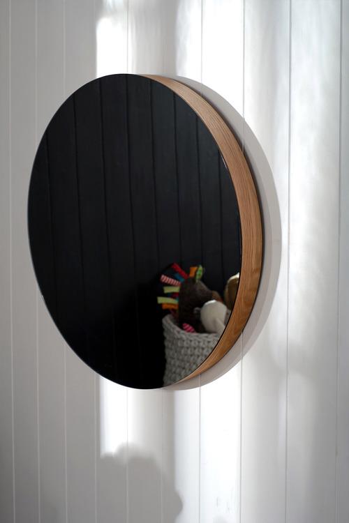 Chet Round Mirror