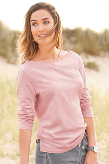 Urban Everyday Slub Cotton Top - 200961