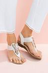 Capture Alanna Trim Sandal Heel