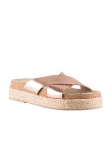 Alona Crossover Sandal Flatform - 200971