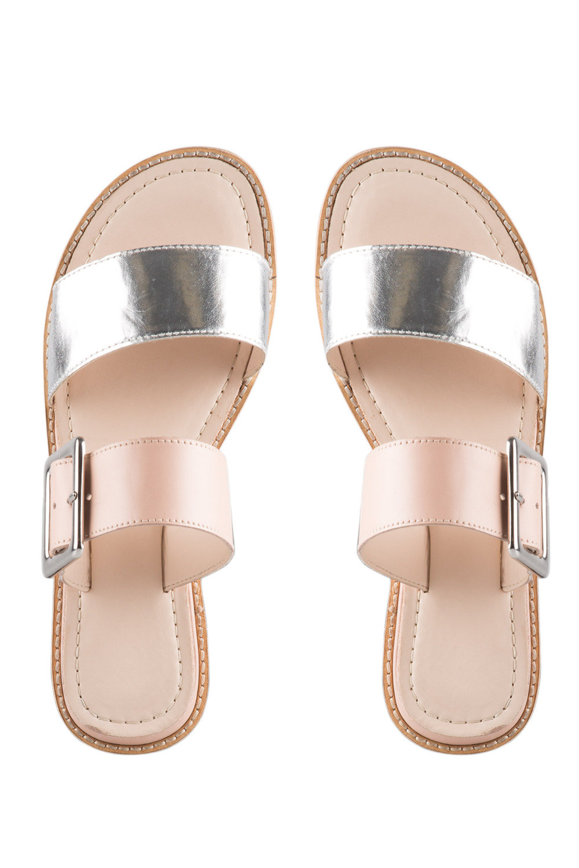 3e3db4050a8ca Dusty Buckle Sandal Flat Online
