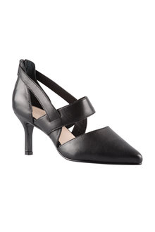 Wide Fit Bree Court Heel - 200978