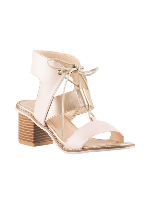 Margot Buckle Sandal Heel