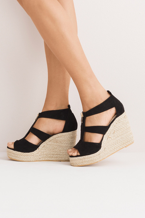 Wide Fit Sandra Wedge Sandal