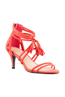 Wide Fit Angela Sandal Heel - 200993