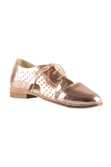 Madison Brogue Flats