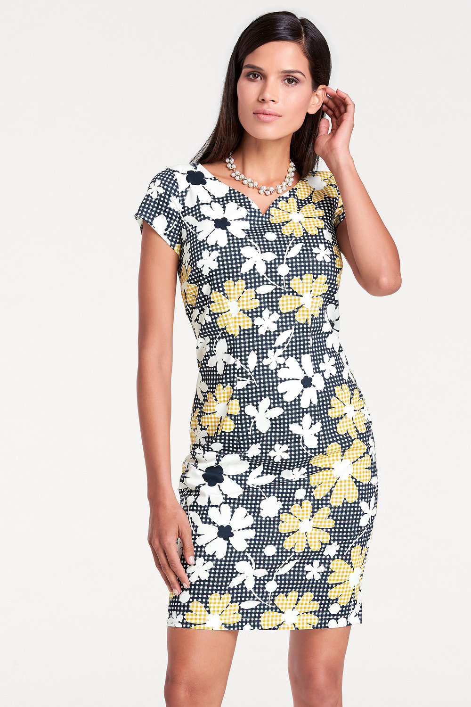 e589f21c0d98 Heine Printed Shift Dress Online | Shop EziBuy