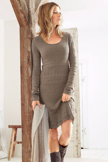 Urban Pointelle Knit Dress