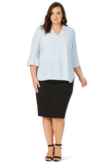 Plus Size - Beme Tapered Perfect Skirt