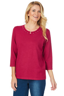 Noni B Tracy Knit Jumper - 201047