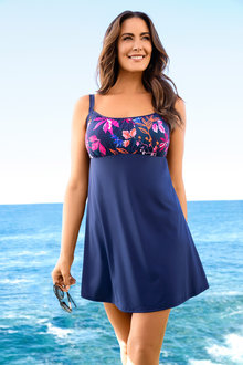 Quayside Woman Dress Swimsuit