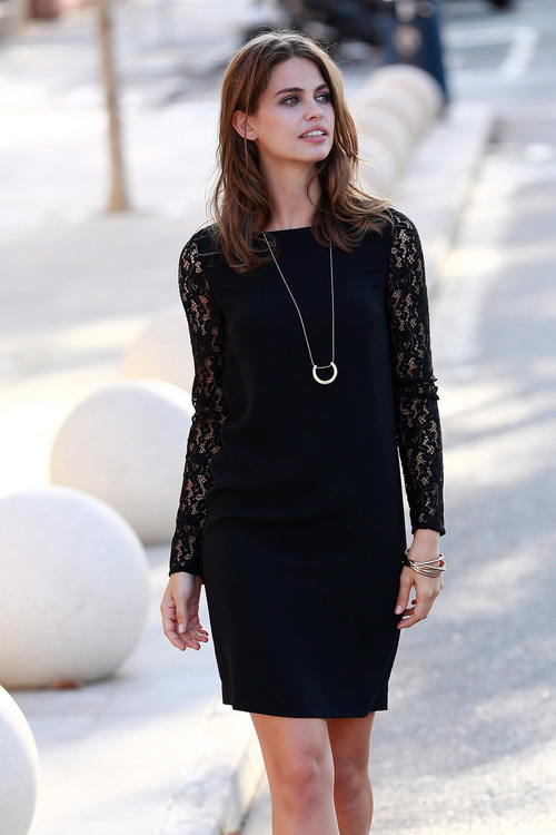 Urban Lace Shift Dress