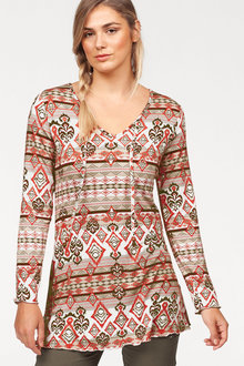 Urban Printed Tunic - 201158
