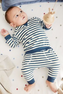 Next Stripe Sweater And Joggers Set (0mths-2yrs)