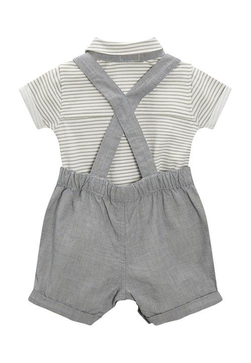 Next Shirt Bow Tie And Shorts Three Piece Set (0mths-2yrs)