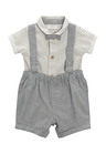 Next Shirt Bow Tie And Shorts Three Piece Set (0mths-2yrs)