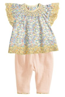 Next Blouse And Trousers Set (3mths-6yrs)