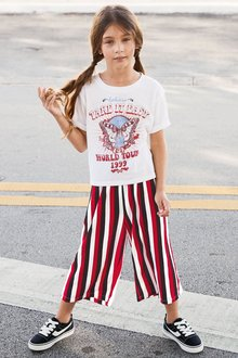 Next Culotte And T-Shirt Set (3-16yrs)