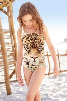 Next Photo Print Swimsuit (12mths-16yrs)
