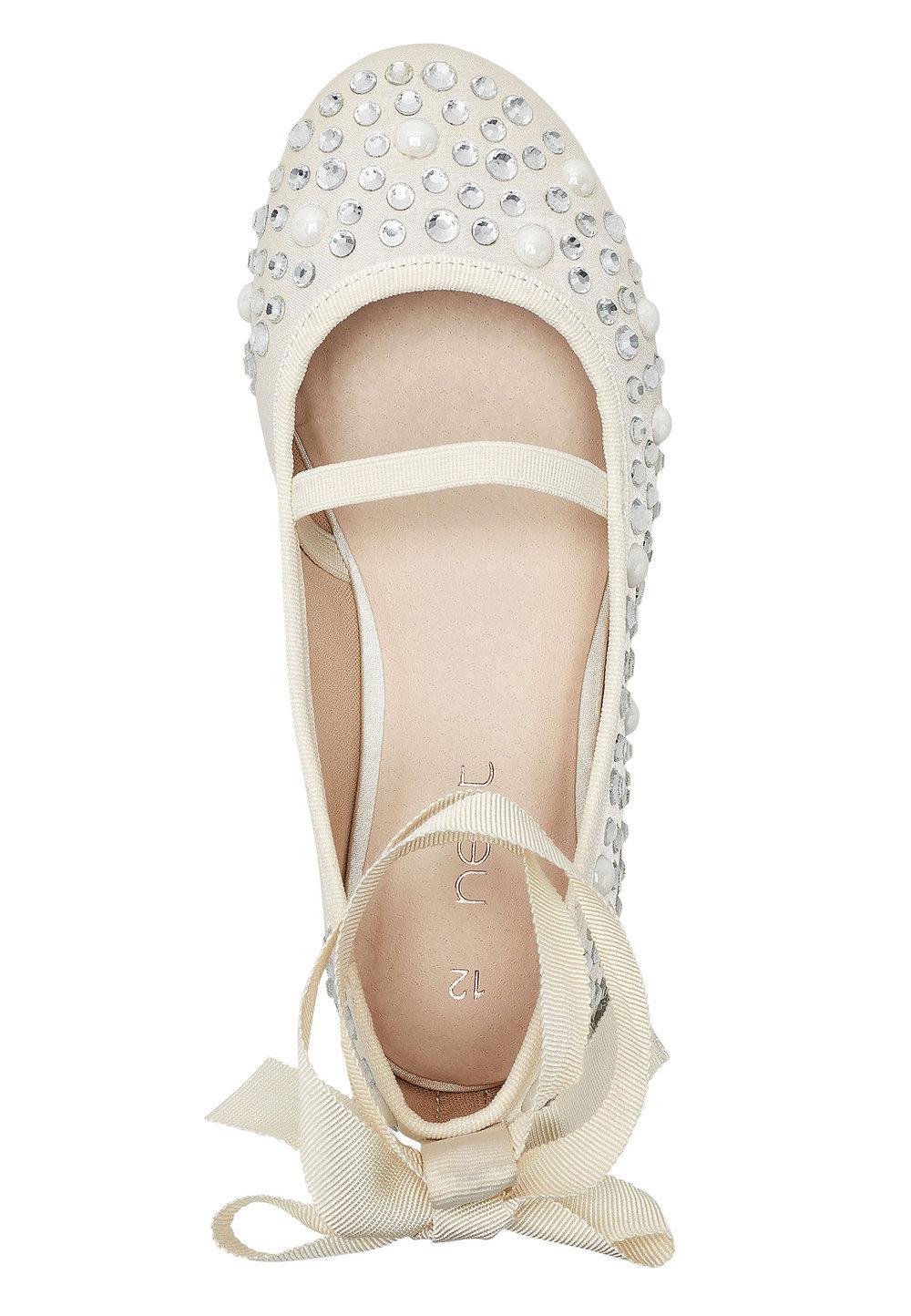 03eea7da362 Next Pearl Effect Ballet Shoes (Older Girls) Online