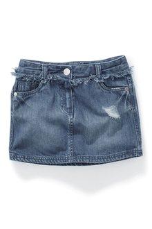 Next Mid Wash Denim Skirt (3-16yrs)