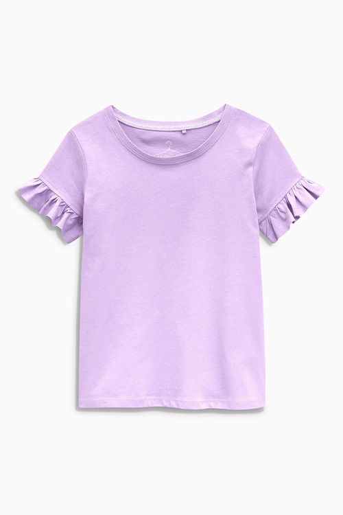 Next Ruffle Sleeve T-Shirt (3-16yrs)
