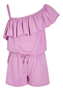 Next Jersey Ruffle Playsuit (3-16yrs)