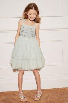 Next Embellished Tutu Dress (3-16yrs)