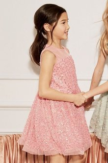 Next Party Sequin Dress (3-16yrs)
