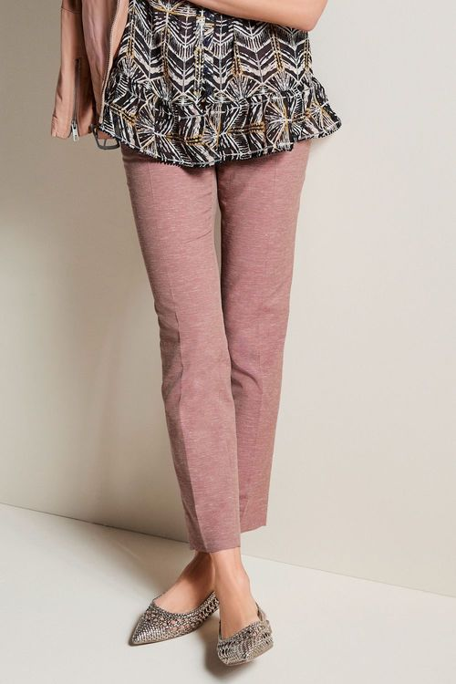 Next Linen Blend Slub Trousers