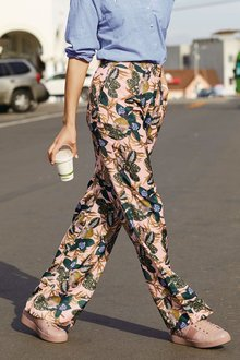 Next Printed Slouch Trousers