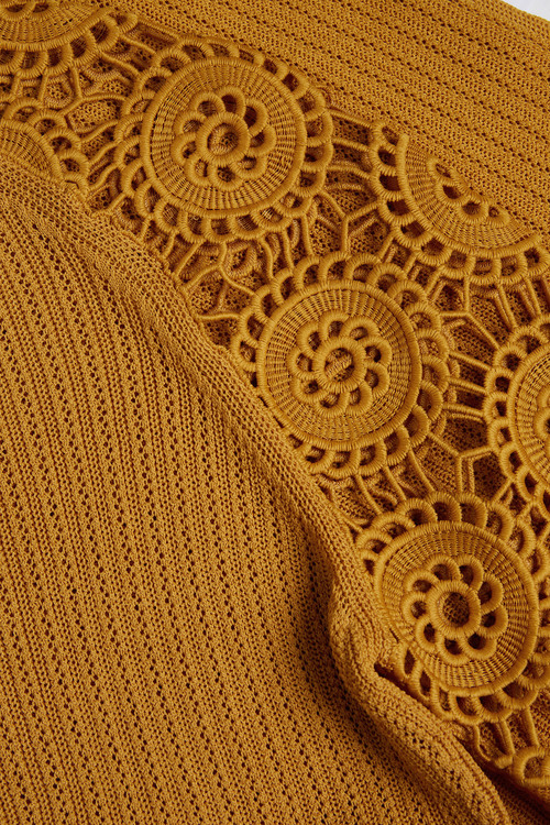 Next Lace Sleeve Sweater