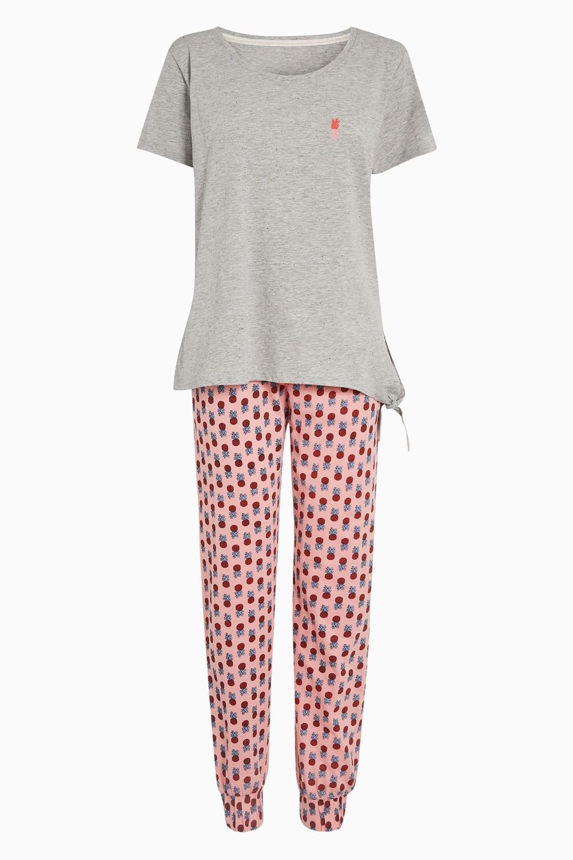 fb7154b2e57db1 Next Pineapple Pyjama Set - Petite