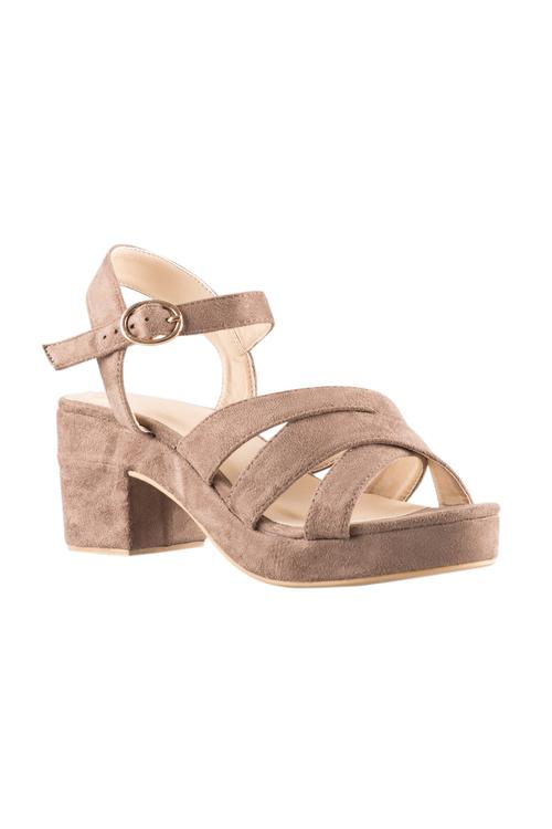 Capture Brandy Platform Sandal Heel