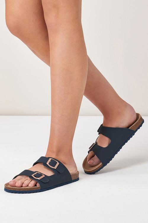 Next Double Buckle Sandals