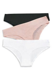 Next No VPL Brazilian Knickers Three Pack