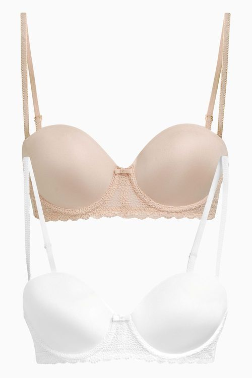 Next Light Pad Multiway Bra Two Pack