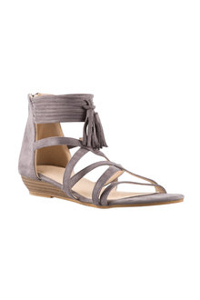 Persia Tassel Sandal Heel Wedge