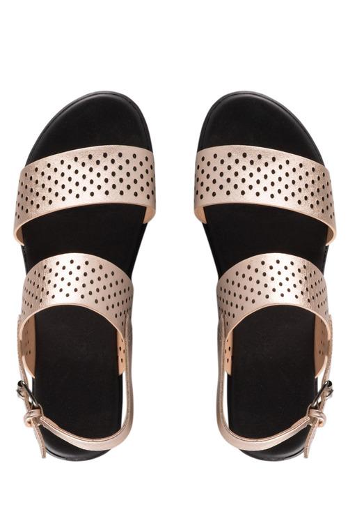 Wide Fit Callie Wedge Sandal Heel