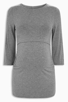 Next Grey Maternity Nursing Top - 201714