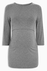 Next Grey Maternity Nursing Top