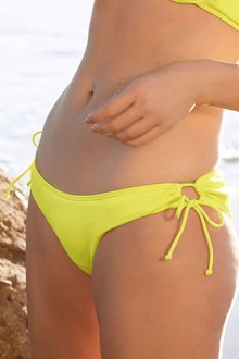 Next Yellow High Leg Bikini Briefs