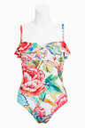 Next Floral Frill Swimsuit