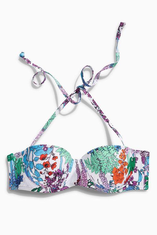 Next Floral Bralet Bikini Top