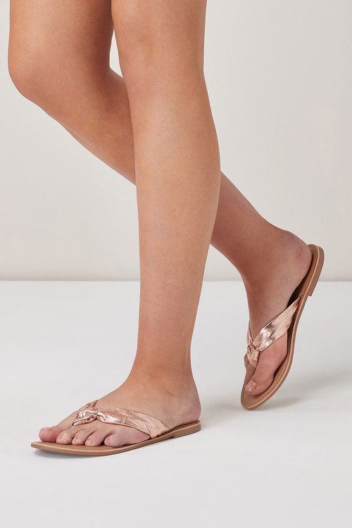 Next Knot Toe Post Sandals