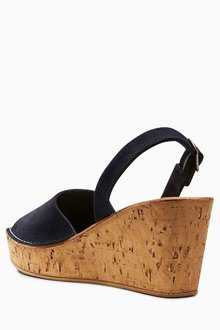 Next Two Part Cork Wedges