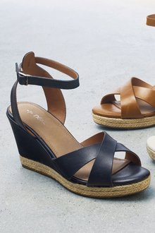 Next Wedges - Leather