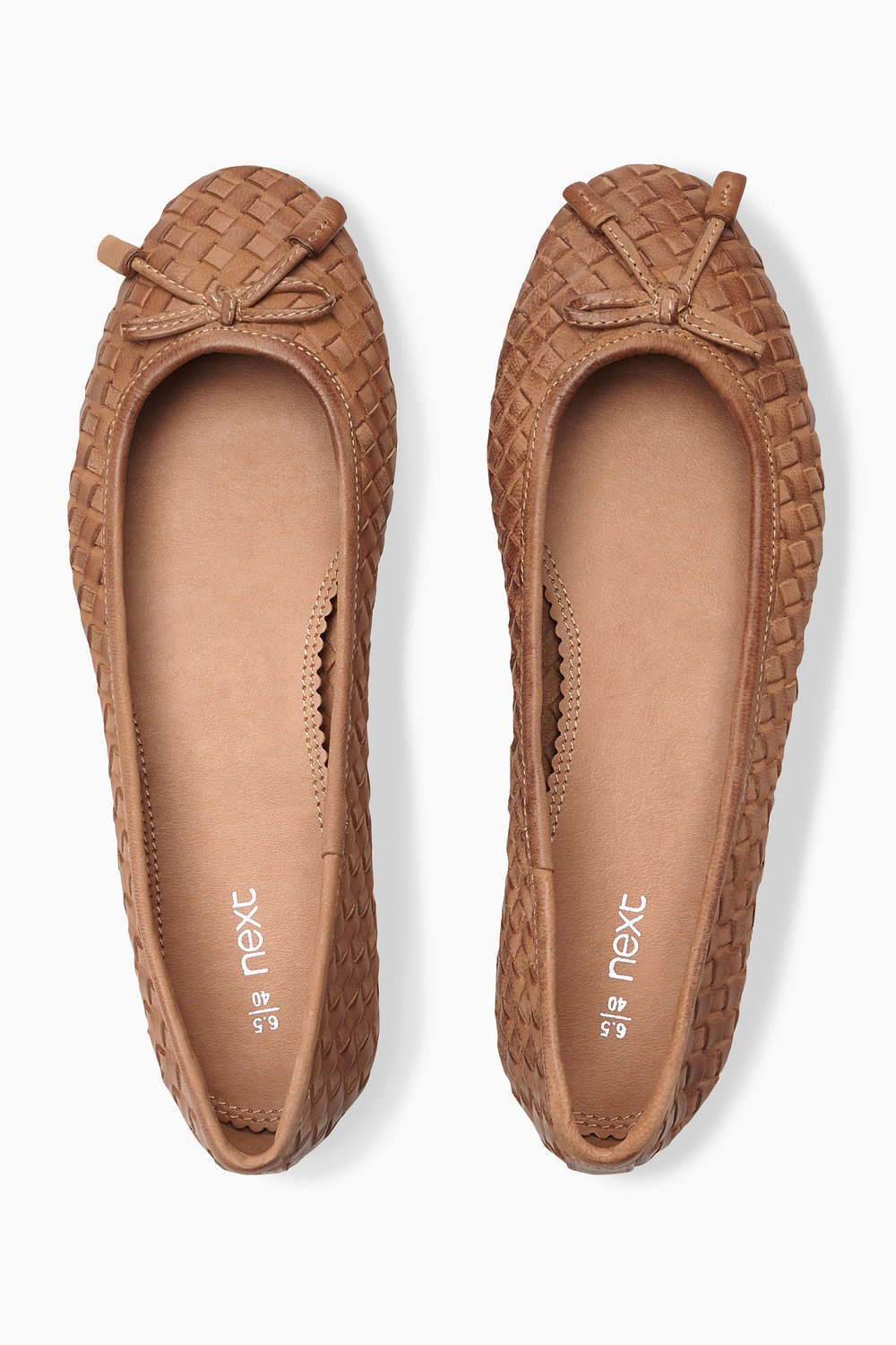 bfec4f5a303 Next Woven Leather Ballerinas Online