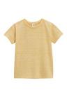 Next Blue/Orange/Yellow/Green Textured Short Sleeve T-Shirts Four Pack (3mths-6yrs)