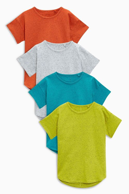 Next Neppy Short Sleeve T-Shirts Four Pack (3mths-6yrs)